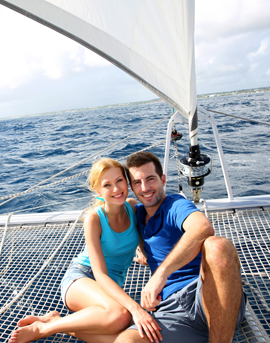 Yacht Charter Greece Honeymoon